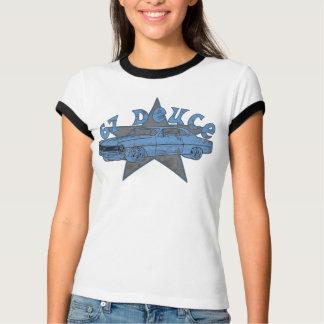 Nova Deuce in Blue T-Shirt