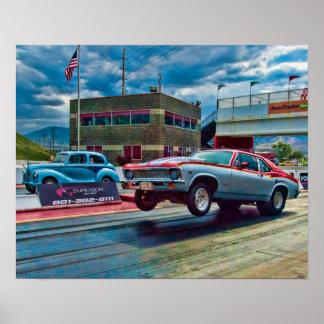 Nova Drag Racing Poster