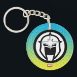 "Nova Icon Keychain<br><div class=""desc"">Check out this classic helmet icon for the Marvel super hero Nova.</div>"