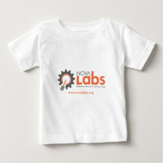 Nova Labs Logo (with URL) Baby T-Shirt