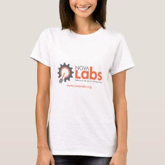 Nova Labs Logo (with URL) T-Shirt