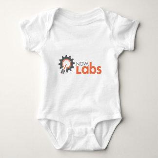 Nova Labs Logo (without Tagline) Baby Bodysuit