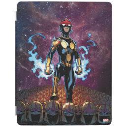 Nova Over Fallen Nova Corps Helmets iPad Smart Cover
