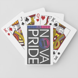 NOVA Pride Bisexual Logo Playing Cards