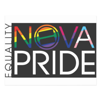 NOVA Pride Stationary Postcard