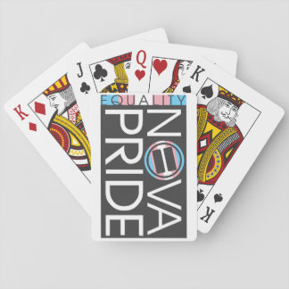 NOVA Pride Transgender Logo Playing Cards