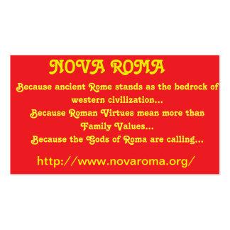 """""""Nova Roma Business Cards"""""""