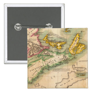 Nova Scotia and New Brunswick 44 Pinback Button