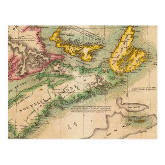 Nova Scotia and New Brunswick 44 Postcard