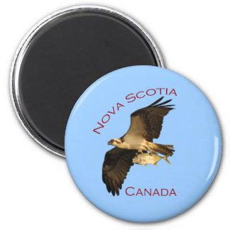 Nova Scotia, Canada 2 Inch Round Magnet