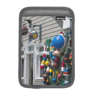 Nova Scotia, Canada. Buoy shop in  Blue Rocks in iPad Mini Sleeves