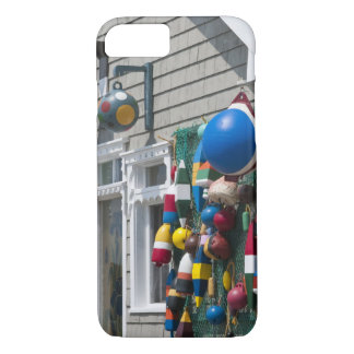 Nova Scotia, Canada. Buoy shop in  Blue Rocks in iPhone 7 Case