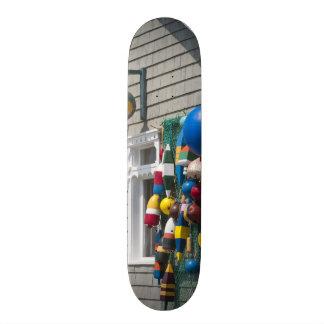 Nova Scotia, Canada. Buoy shop in  Blue Rocks in Skate Board