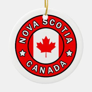 Nova Scotia Canada Ceramic Ornament