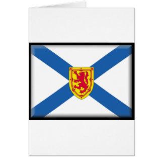 Nova Scotia (Canada) Flag Greeting Card