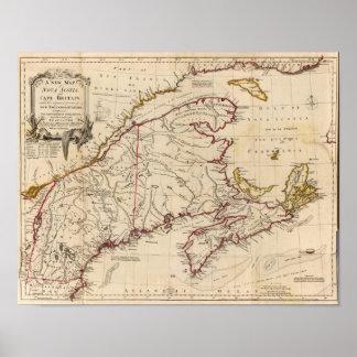 Nova Scotia, Cape Britain Poster