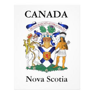 Nova Scotia coat of arms Personalized Flyer