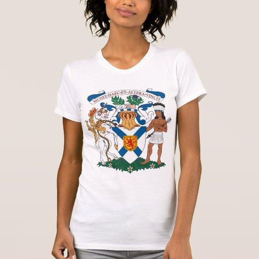 Nova Scotia Coat of Arms T-shirt