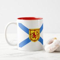 Nova Scotia Coffee tea cup mug