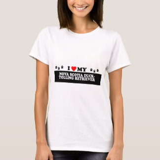 NOVA SCOTIA DUCK-TOLING RETRIEVER_ T-Shirt