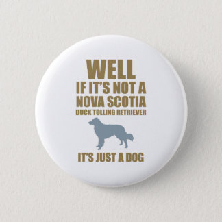 Nova Scotia Duck Tolling Retriever Button
