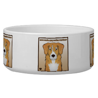 Nova Scotia Duck Tolling Retriever Cartoon Bowl