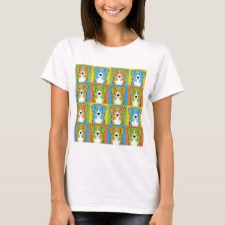 Nova Scotia Duck Tolling Retriever Cartoon Pop-Art T-Shirt