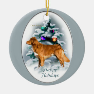 Nova Scotia Duck Tolling Retriever Christmas Gifts Christmas Ornaments