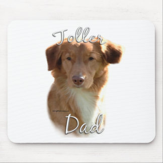 Nova Scotia Duck Tolling Retriever Dad 2 Mouse Pad
