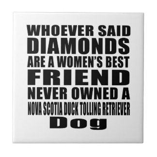 NOVA SCOTIA DUCK TOLLING RETRIEVER DOG BEST FRIEND TILE