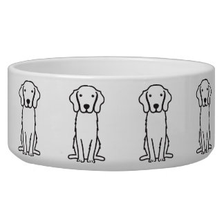 Nova Scotia Duck Tolling Retriever Dog Cartoon Bowl