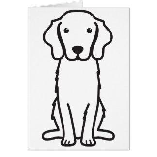 Nova Scotia Duck Tolling Retriever Dog Cartoon Card