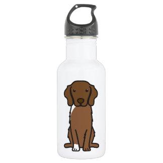 Nova Scotia Duck Tolling Retriever Dog Cartoon 18oz Water Bottle