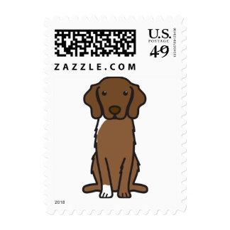 Nova Scotia Duck Tolling Retriever Dog Cartoon Postage Stamp