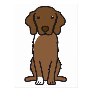 Nova Scotia Duck Tolling Retriever Dog Cartoon Postcards