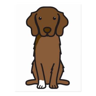 Nova Scotia Duck Tolling Retriever Dog Cartoon Post Card