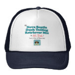 Nova Scotia Duck Tolling Retriever Mix is All That Trucker Hat