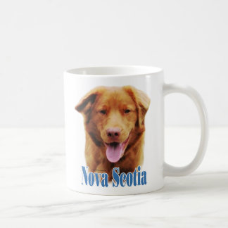 Nova Scotia Duck Tolling Retriever Name Coffee Mugs