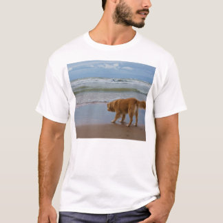 Nova Scotia Duck Tolling Retriever Ocean Cautious T-Shirt
