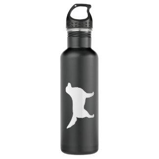 Nova Scotia Duck Tolling Retriever Silhouette Water Bottle