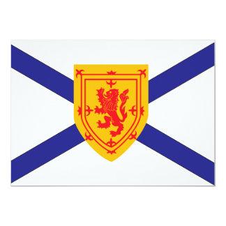 NOVA SCOTIA Flag Card
