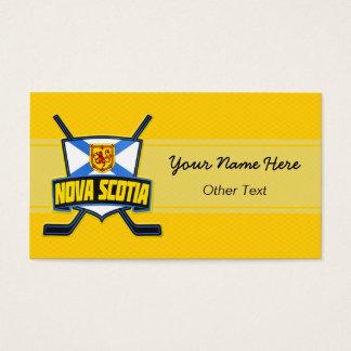 Nova Scotia Flag Hockey Customized Business Cards