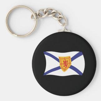 Nova Scotia Flag Keychain