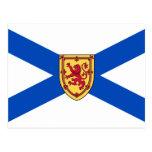 Nova Scotia flag Postcards