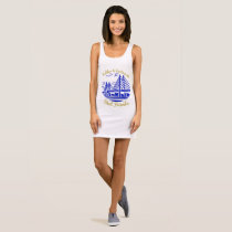 Nova Scotia Halifax Dartmouth Best friends blue Sleeveless Dress