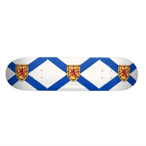 Nova Scotia(Historic 3 By 4 Ratio) flag Skate Board Deck