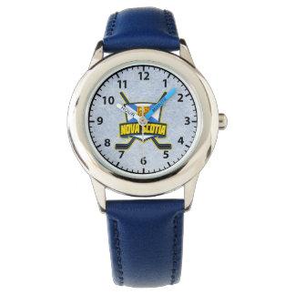 Nova Scotia Hockey Logo Wrist Watch