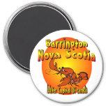 Nova Scotia Lobster 3 Inch Round Magnet