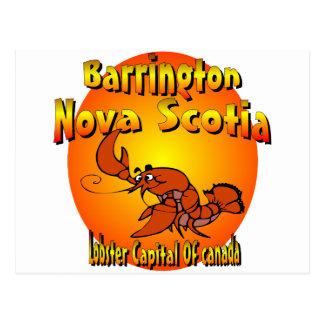 Nova Scotia Lobster Postcard