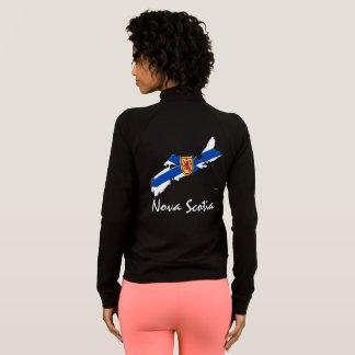 Nova Scotia Map track jacket